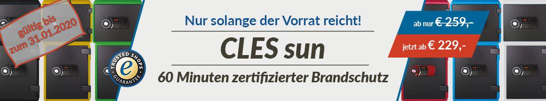Sonderaktion - CLES sun Sonderaktion