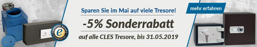 Sonderrabatt - CLES