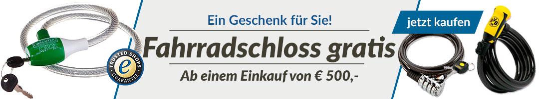 Fahhradschloss gratis